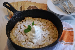 Michael Chiarello's Apple Clafoutis
