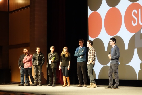 The Cast and Crew Taking Audience Questions