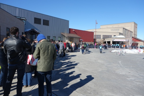 The Line to see Camp X-Ray World Premiere
