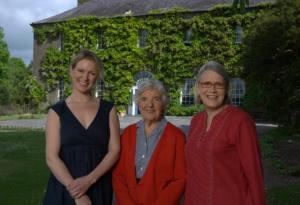 Rachel, Myrtle and Darina Allen: Photo Credit: Ballymaloe Cookery School