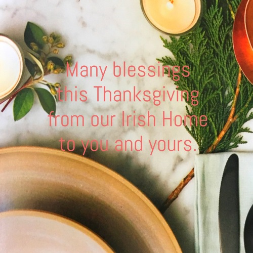 Wishes from In an Irish Home to You and Yours